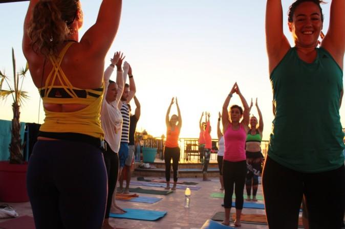 yoga beach 5