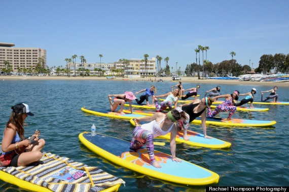 yoga surf board
